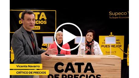 Vídeo de Supeco con el Crítico de precios Vicente Navarro