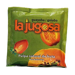 Pulpa guayaba congelado La Jugosa